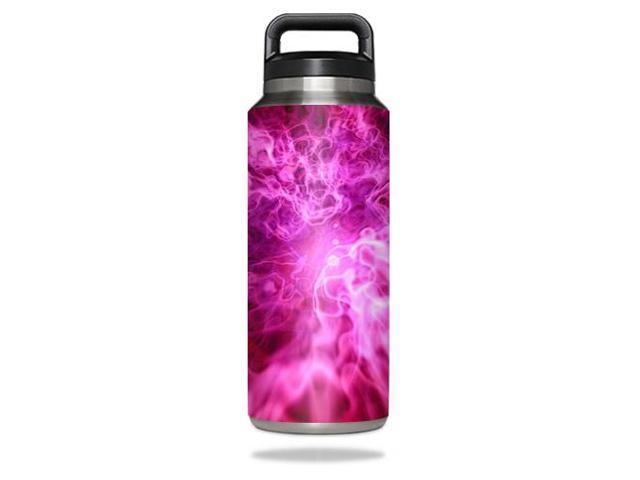 Skin Decal Wrap for YETI Rambler Bottle 36 oz cover sticker Red Mystic Flames