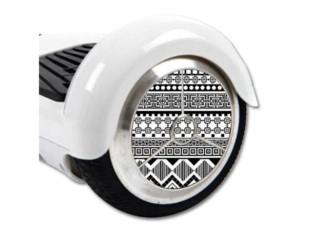 Skin Decal Wrap for Board Balance Scooter Wheels Black Aztec