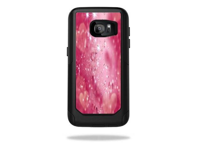 Skin Decal Wrap for OtterBox Commuter Samsung Galaxy S7 Pink Diamonds