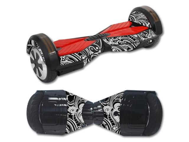 Skin Decal Wrap for Balance Board Scooter Hover bluetooth Black Vintage