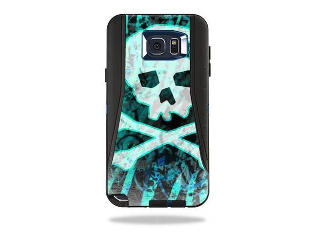 Skin Decal Wrap for OtterBox Defender Samsung Galaxy Note 5 Zebra Skull