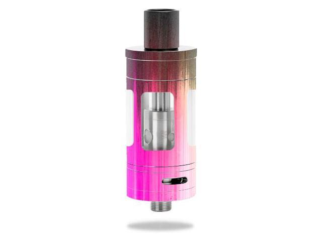 Skin Decal Wrap for Kanger Toptank Mini vape sticker Rainbow Wood