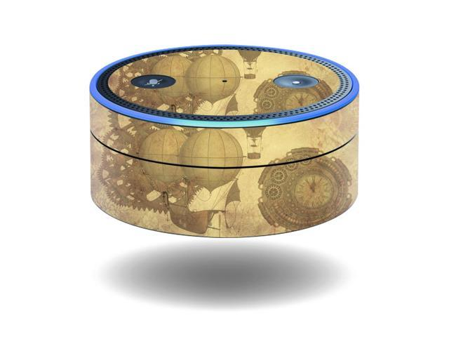 Skin Decal Wrap for Amazon Echo Dot (1st Generation) cover Steam Punk Paper