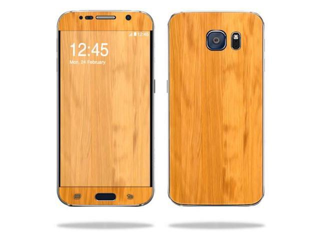 Skin Decal Wrap for Samsung Galaxy S6 cover sticker skins Birch Wood Grain