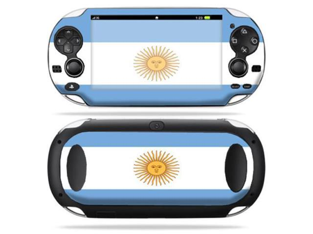 Protective Vinyl Skin Decal cover for Sony PS Vita Playstation Argentina Flag