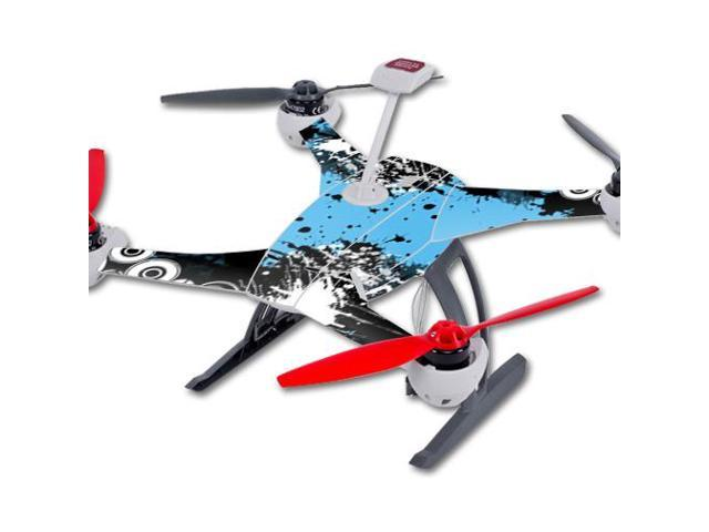 Skin Decal Wrap for Blade 350 QX3 Quadcopter Drone sticker Hip Splatter
