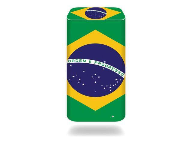 Skin Decal Wrap for Apple AirPort Extreme Base Station Brazilian Flag