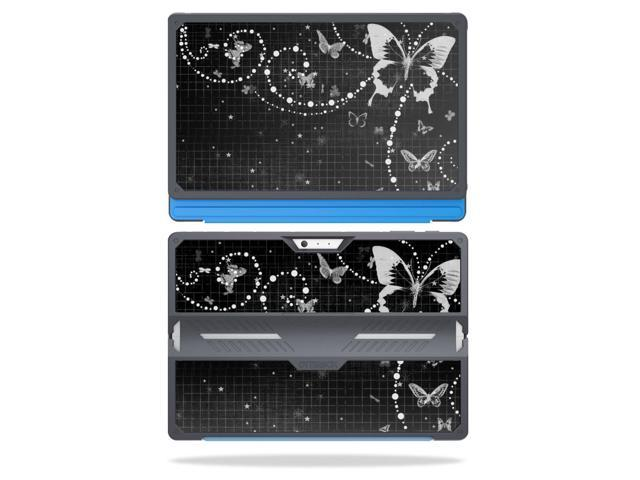 Skin Decal Wrap for OtterBox Symmetry Surface Pro 4 sticker Black Butterfly