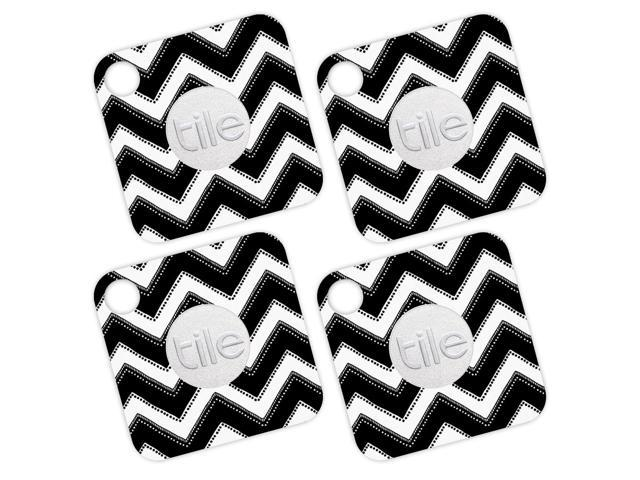Skin Decal Wrap for Tile Mate (4 pack) sticker Chevron Style