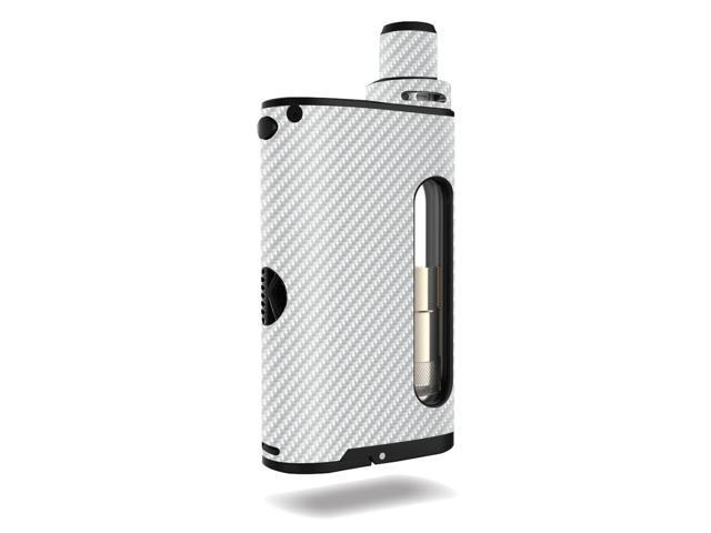 Skin Decal Wrap for Kangertech CUPTI stickers White Carbon Fiber