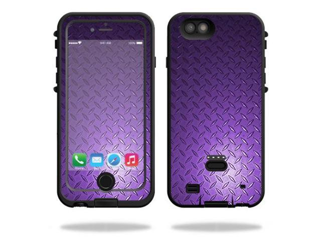 Skin Decal Wrap for LifeProof FRE Power iPhone 6/6S Case cover Purple Diamnd Plt