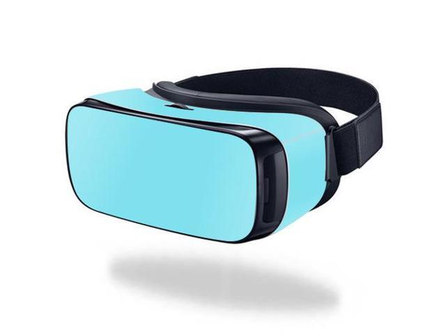 Skin Decal Wrap for Samsung Gear VR (Original) cover sticker Solid Baby Blue