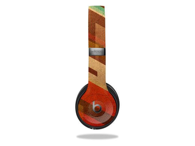 Skin Decal Wrap for Beats Solo 3 Wireless cover sticker skins Abstract Wood