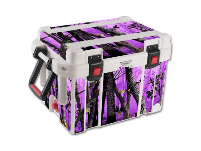 Skin Decal Wrap for Pelican 45 qt Cooler sticker cover Purple Tree Camo