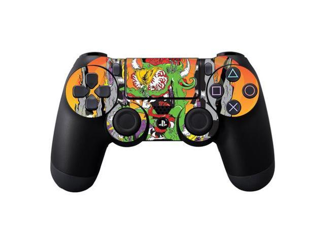 Skin Decal Wrap for DualShock PS4 Controller Dragon Rocker