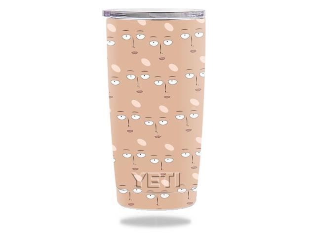 Skin Decal Wrap for YETI 20 oz Rambler Tumbler Single Punch Dude