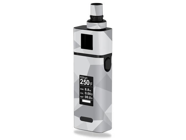 Skin Decal Wrap for JoyeTech Cuboid Mini 80W Gray Polygon