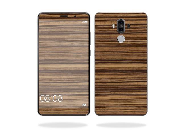 Skin Decal Wrap for Huawei Mate 9 cover sticker skins Dark Zebra Wood