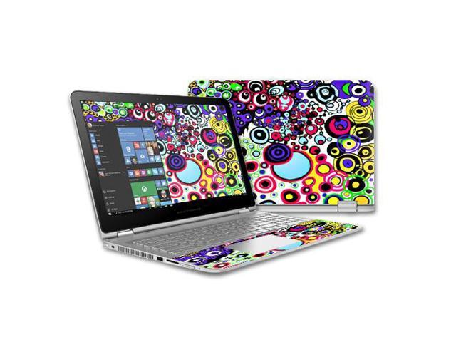 Skin Decal Wrap for Hp Envy x360 15 (2015) Laptop  skins Circle Explosion