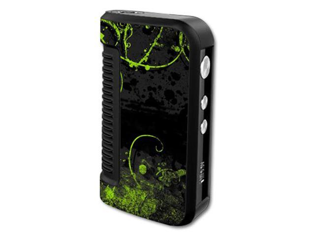 Skin Decal Wrap for Dovpo Guardian 1.5 150W mod vape Green Distortion
