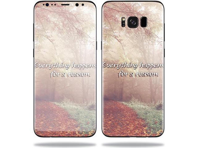 Skin Decal for Samsung Galaxy S8+ Plus sticker Happens For A Reason