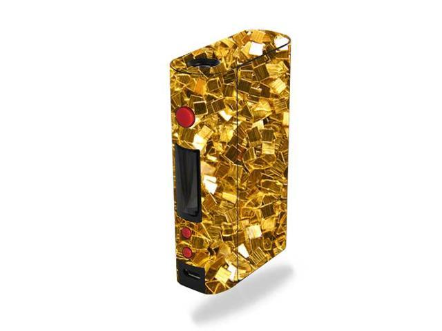 Skin Decal Wrap for Kanger KBOX 200W sticker Gold Chips