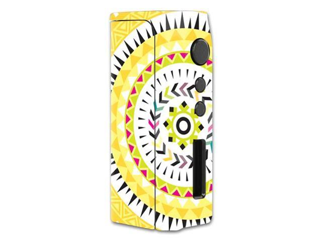 Skin Decal Wrap for Pioneer4You iPV D2 75W mod skins vape Yellow Aztec