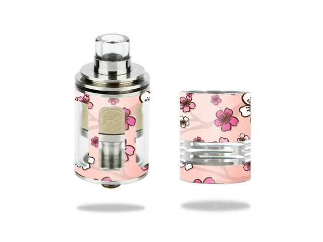 Skin Decal Wrap for Wismec Theorem Atomizer stickers Cherry Blossom