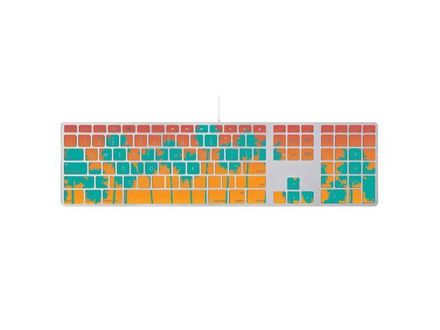 Skin Decal Wrap for Apple Keyboard with Numeric Keypad sticker Sherbet Palms
