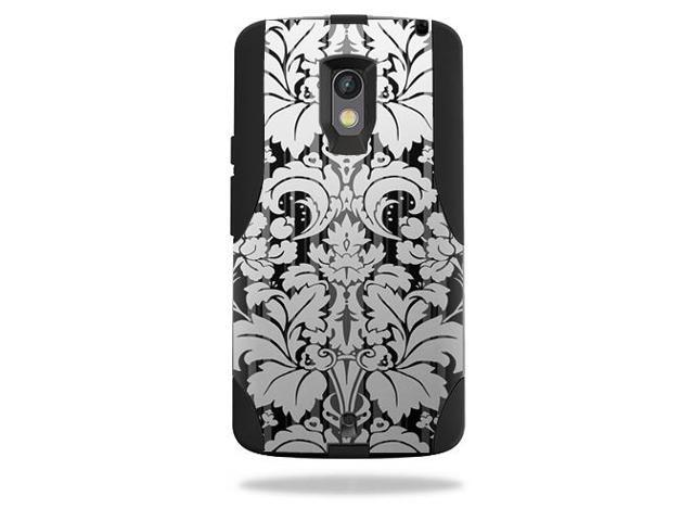 Skin Decal Wrap for OtterBox Commuter Motorola Droid Maxx 2 Floral Retro