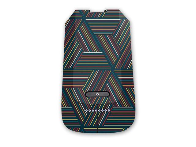 Skin Decal Wrap for 3DR Solo Battery sticker Triangle Stripes