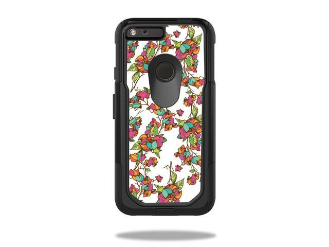 Skin Decal Wrap for OtterBox Commuter Google Pixel XL 5.5 Case Bouganvilla