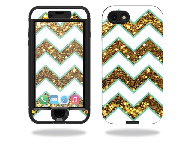 Skin Decal Wrap for Lifeproof Nuud iPhone 7 sticker Glitter Chevron