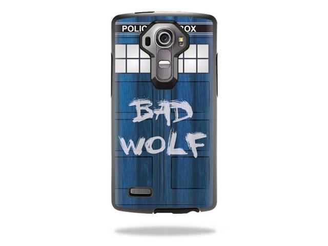 Skin Decal Wrap for Otterbox Symmetry LG G4 Case cover Time Lord Box