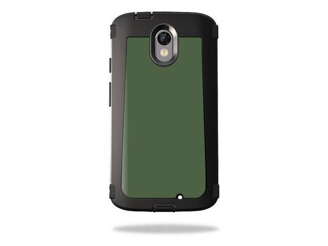 Skin Decal Wrap for OtterBox Defender Droid Turbo 2 Solid Olive