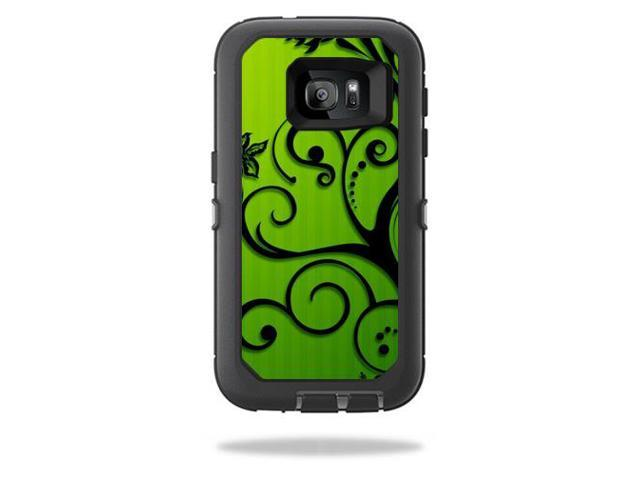 Skin Decal Wrap for OtterBox Defender Samsung Galaxy S7 Floral Flourish