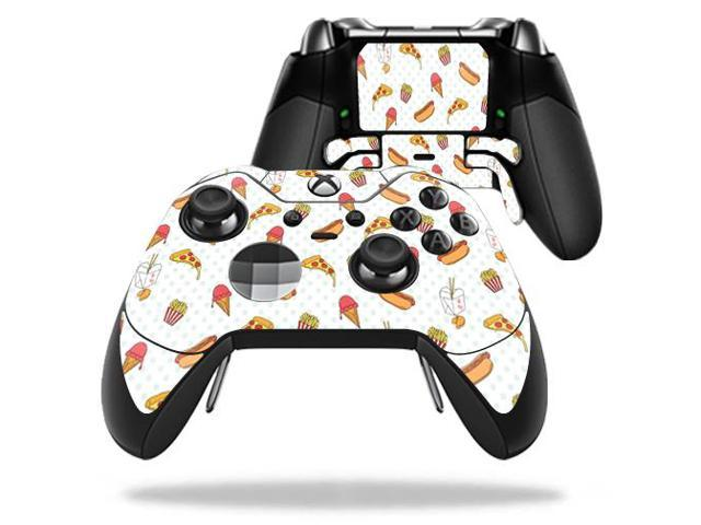 Skin Decal Wrap for Microsoft Xbox One Elite Controller Food Junkie