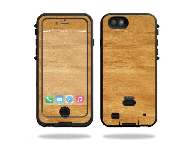 Skin Decal Wrap for LifeProof FRE Power iPhone 6 Plus/6s Plus Birch Grain