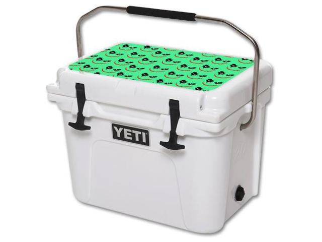 Skin Decal Wrap for YETI Roadie 20 qt Cooler Lid Why So Serious