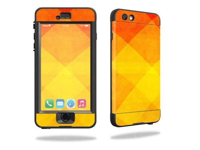 Skin Decal Wrap for Lifeproof iPhone 6 Nuud Orange Texture