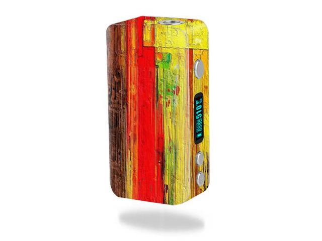 Skin Decal Wrap for Smok Koopor Plus 200W mod sticker Painted Wood