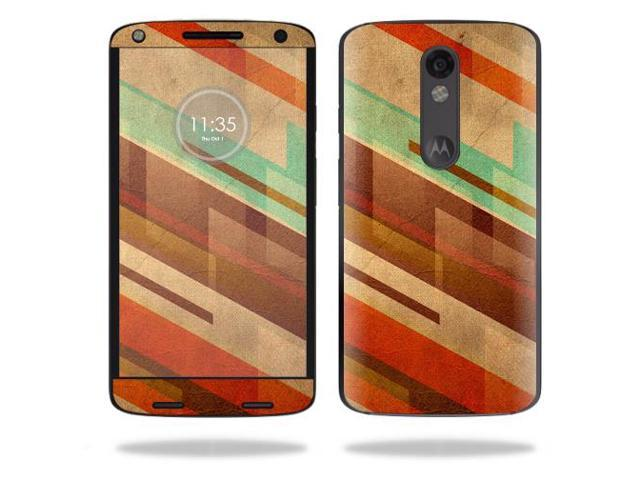 Skin Decal Wrap for Motorola Droid Turbo 2 cover sticker Abstract Wood