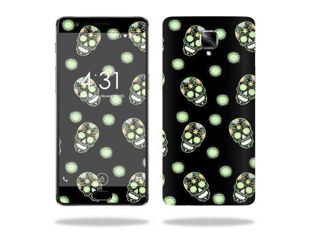 Skin Decal Wrap for OnePlus  3  Glowing Skulls