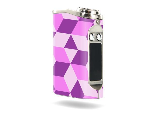 Skin Decal Wrap for Tesla Nano 60W TC sticker Pink Geo Tile
