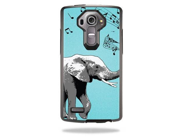 Skin Decal Wrap for Otterbox Symmetry LG G4 Case cover skins Musical Elephant