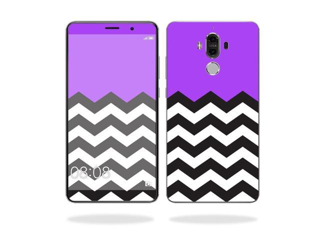 Skin Decal Wrap for Huawei Mate 9 cover sticker skins Purple Chevron