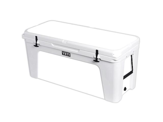Skin Decal Wrap for YETI Tundra 160 qt Cooler cover sticker Solid White