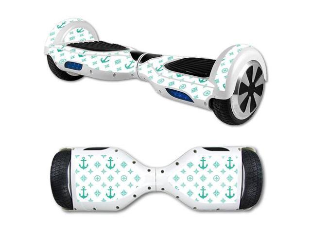 Skin Decal Wrap for Hover Board Balance Balancing Scooter Teal Designer