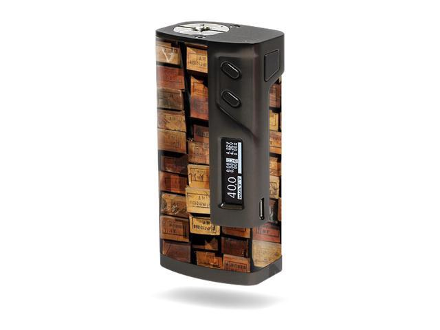 Skin Decal Wrap for Sigelei 213W TC sticker Stacked Wood