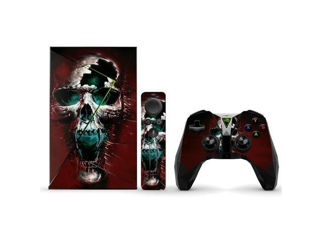 Skin Decal Wrap for NVIDIA Shield TV sticker Wicked Skull